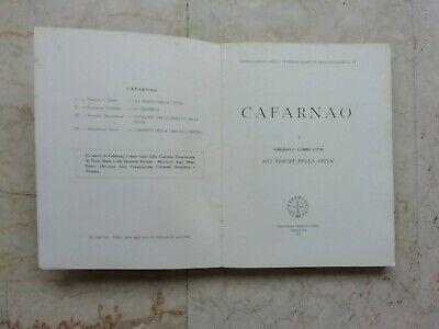 ARCHEOLOGIA/CAFARNAO Gli Edifici della Citta'-Virgilio C.Corbo 7