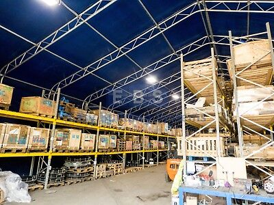 Steel Framed Storage Building Industrial Portable Temporary Commercial Warehouse 4