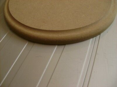 wooden shape Hexagon 12mm thick Square-Edged  MDF 75mm 750mm diameter