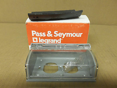 "New Pass & Seymour 3700 HORIZONTAL COVER SELF-CLOSING 3/32"" GASKET"