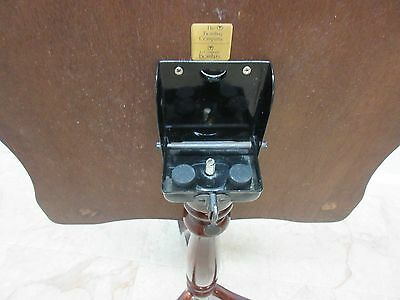 Bombay Company Cherry Lamp End Table Pedestal Stand 10