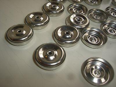 20x Rad Räder Reifen aus Blech 2cm für Penny Toy Blechspielzeug Holzspielzeug d2