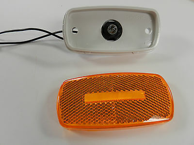 5 ea 10 Pack Amber And Red Marker// Clearance Light Optronics RV Trailer Truck