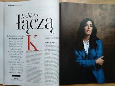 MONICA BELLUCCI on cover URODA ŻYCIA 3/2019 in. Margaret, Mahershala Ali