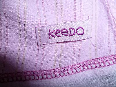 Girls Keedo pink skirt & top set (size medium) 4