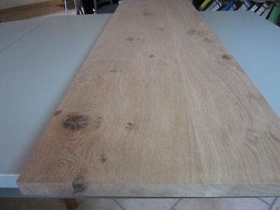 Eichenplatte Wildeiche Massivholzplatte 40x300x1000mm Treppenstufe €58,95//m