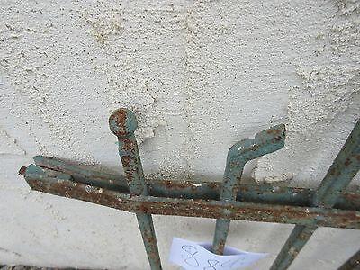 Antique Victorian Iron Gate Window Garden Fence Architectural Salvage #884 6