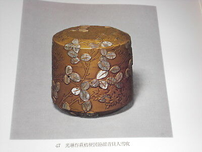 Japanese Tea Ceremony CHADO Equipment Antique Art Book 11 USUCHAKI Natsume Caddy 10