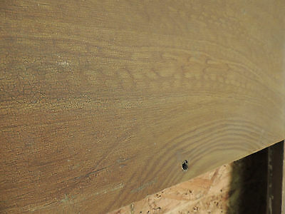 Antique 19c American Grain Painted Fireplace Mantel - Pine & Square Nail VR 6