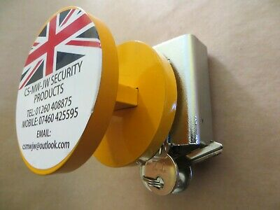 Heavy Duty Trailer Hitch Lock YL 40mm & 50mm Eye Couplings security 8