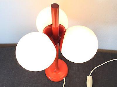 Mid Century 60s KAISER Space Age Tulip Globe Table Lamp  Staff Era Raak Atomic 3