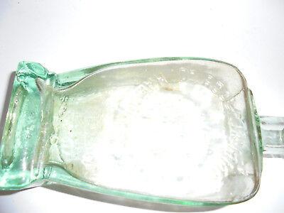 27436 Dr. Hommels Haematogen Relief Flasche Glasflasche 1910 Reklame 18cm 3