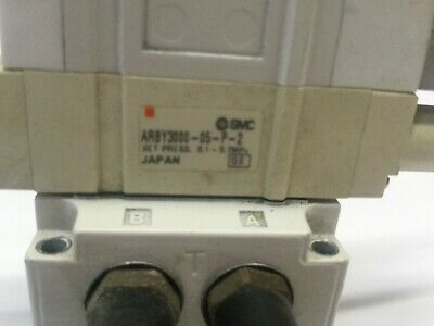 SMC SY3140-5LZ-01T Assy. Solenoid, ARBY3000-05-P-2 Regulator, SY3140-5LZ 7