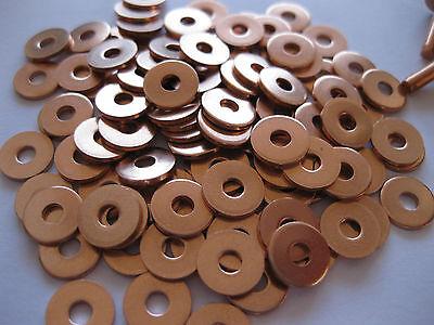 Copper hose saddlers rivets 10 Gauge x 1/2 with washers leather belt bag crafts 4