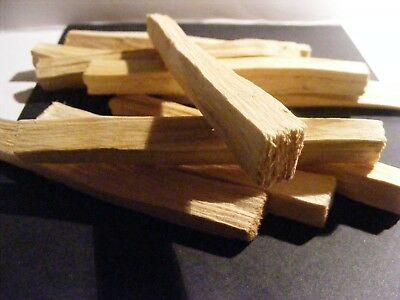 PALO SANTO HOLY WOOD ORGANIC Sacred INCENSE/SMUDGE STICKS X 10 pack🌕 6