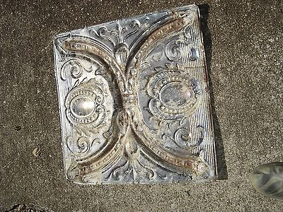 """Antique Tin Ceiling Squares 24"""" x 24"""" stripped.  7844 2"""