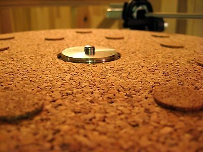 160 and 166 150 Thorens Cork Turntable Mat 2mm 145 for TD 125 165