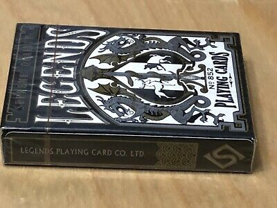 Zen Pure Red CARC EPCC LEGENDS Rare Playing cards New Sealed USPCC BICYCLE