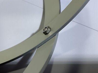 Genesa Pentasfera diametro 21 cm alluminio satinato argento profilo 1,5 cm 6
