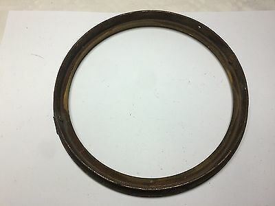 Antique Heavy Brass Bezel Frame Only, NO door, Possibly from a Fusee Clock ? 6