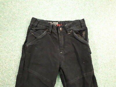 "Next Relaxed Jeans Waist 26"" Leg 24"" Black Faded Boys 10Yrs Jeans 2"