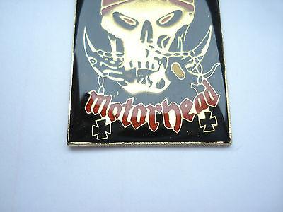 LEMMY MOTORHEAD ACE OF SPADES SKULL HEAVY METAL MUSIC ROCK BAND PIN BADGE SALE