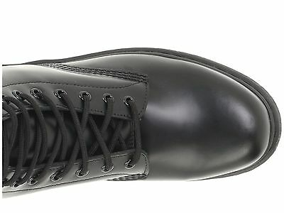 Men's Shoes Dr. Martens 1460 MONO 8 Eye Leather Boots 14353001 BLACK SMOOTH 6