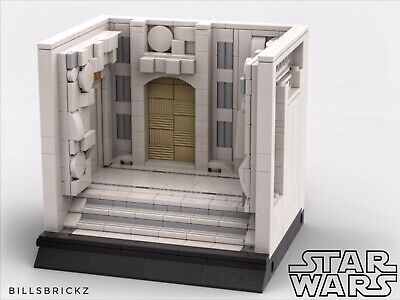 Emperor **SALE** Lego Star Wars MOC Modular Display PDF Instructions Only