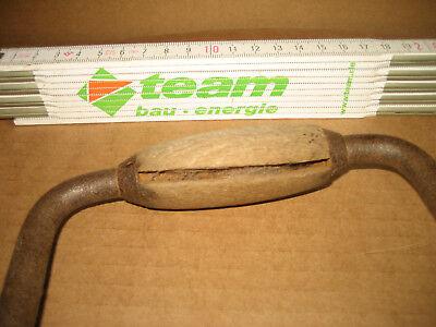 Handbohrer Tischlehrwerkzeug Kurbelbohrer Handkurbelbohrer Werkzeug Antik 103 2