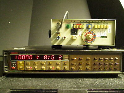 Keithley 194A Dual Channel Voltmeter RMS AVG Math 32K buffer High speed 2