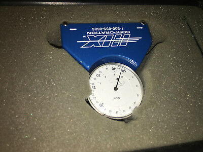 HIX Dial Angle Gauge Indicator with Case! Quality Gauge! 2