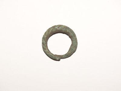 Graceful Twisted tin bronze Viking finger ring . c 8-10 AD. Kievan Rus. Viking. 3 • CAD $81.79