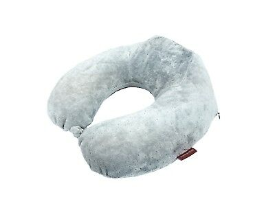 Elevated Neck Support Memory Foam U Shape Travel Pillow Airplane Cushion 2 Color 2