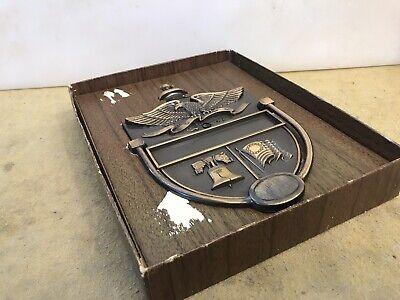Vintage Door Knocker Metal Patriotic American Eagle Liberty Bell Colonial Flag M 7