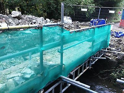 Green Debris Netting 1M X 50M Scaffolds Garden Allotments Net 5