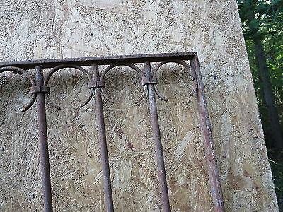 Antique Victorian Iron Gate Window Garden Fence Architectural Salvage Door GGG 8