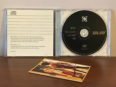 Duran Duran MTV's 2nd Annual New Year's Eve Rock'n'Roll Ball '82 CD w/The Pass 3
