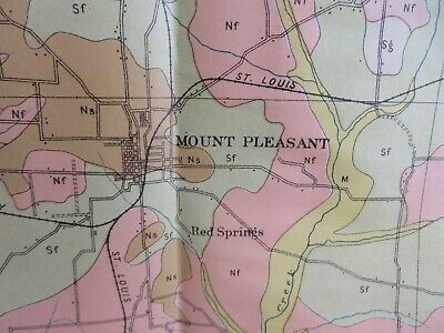 1861 SLAVE MAP BOWIE CASS RED RIVER TITUS LAMAR HOPKINS UPSHUR COUNTY TX huge
