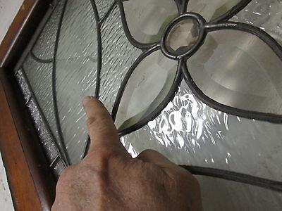 Monumental 9 Ft. Pair Beveled Antique Glass Door Side- Lites W/10 Jewels # 531 11