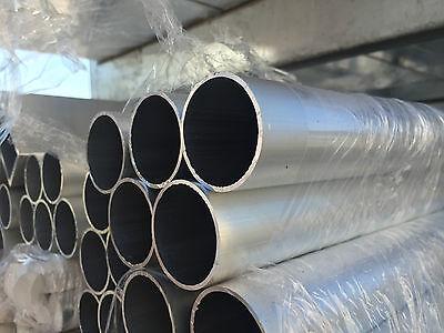 Aluminium Round Tube Pipe Various Sizes 25mm 30mm 40mm 50mm 60mm 80mm 100mm .... 7