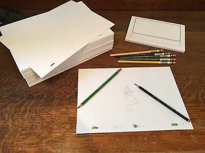 Animation Paper Bundle - 1000 punched A4 Sheets, Storyboard Pad, Pegbar, Pencils 5