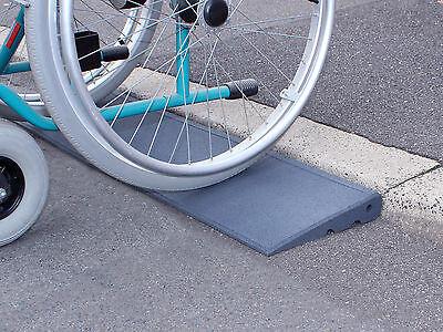 Bordsteinkanten-Rampe Excellent Profi Set 65/5000 Rollstuhl Rollator Autorampe