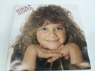 "Nikka Costa Self Titled Lp Vinilo Vinyl 12"" 1981 Spanish Edition Vg/Vg 10"
