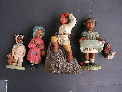 "5-All Gods Children,ALL""SIGNED""IN ORIGINAL BOXE'S"",LITTLE CHIEF,TARA,PRISSY,BO"