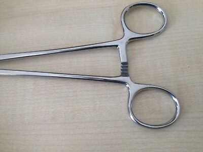 Pozi Forceps Surgery Tenaculum Forceps 23 CM Stainless Steel CE