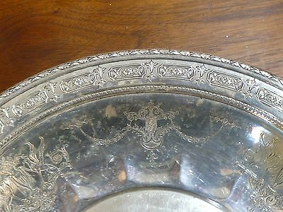 """Amazing Towle Sterling Silver Tray Charger Plate Old Master #6668 12"""" Wide 8"""