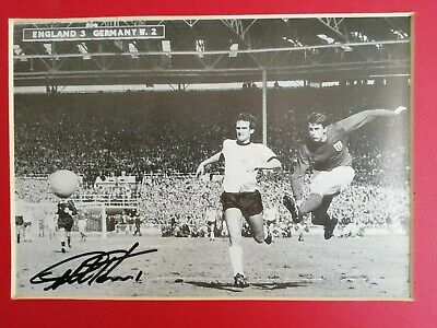 Sir Geoff Hurst And Martin Peters Signed Photograph & Cover Display. 2