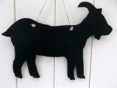 lrg GOAT SHAPE chalkboard blackboard birthday christmas farm animal billy nanny 2