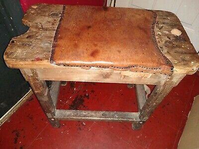 Beautiful Antique  English  Cobblers Bench 8