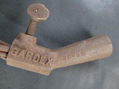 GARDEN CULTIVATOR metal prong FOLK ART industrial STEAMPUNK antique